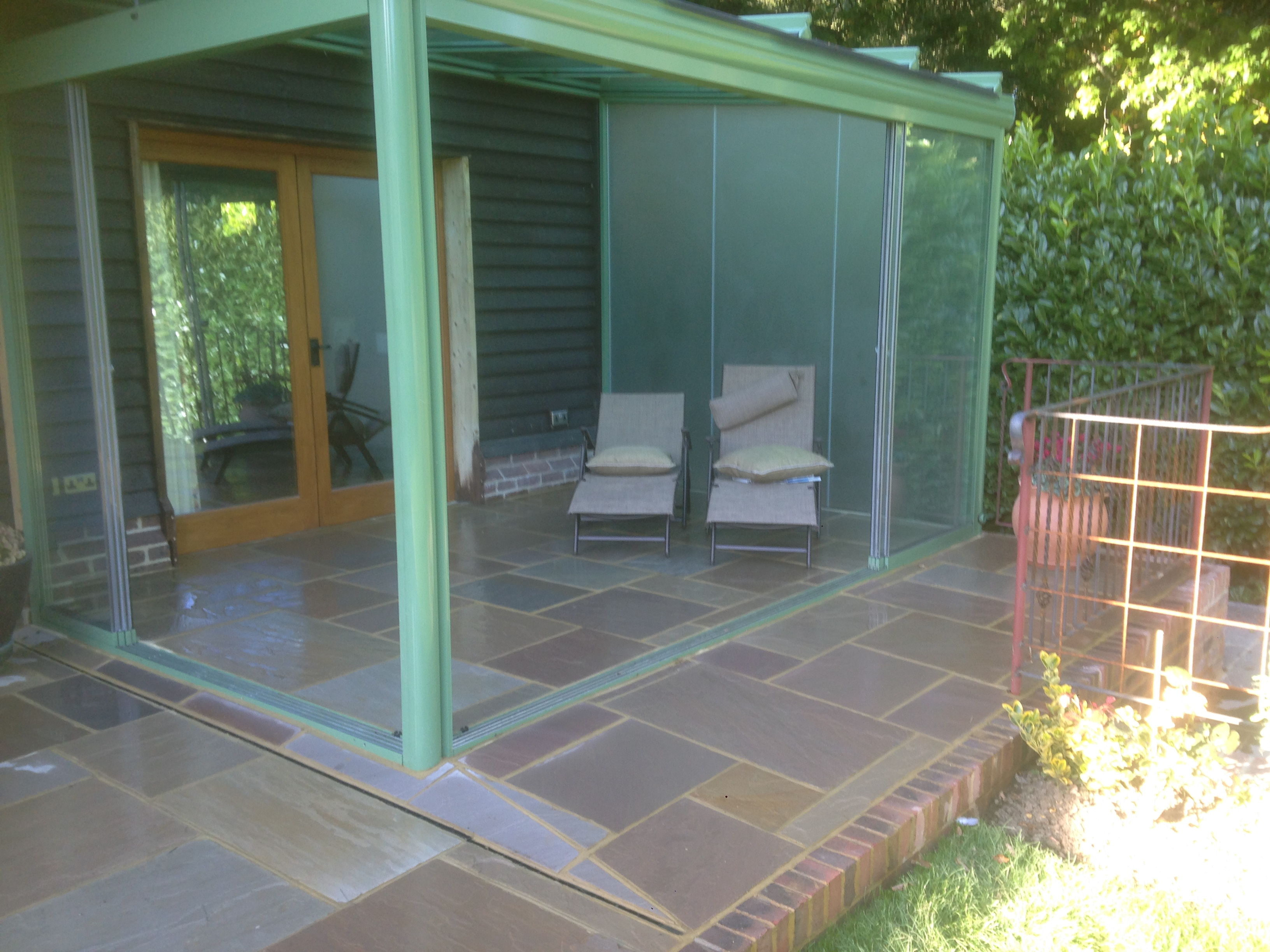 Sheltered Patio in the horsham area