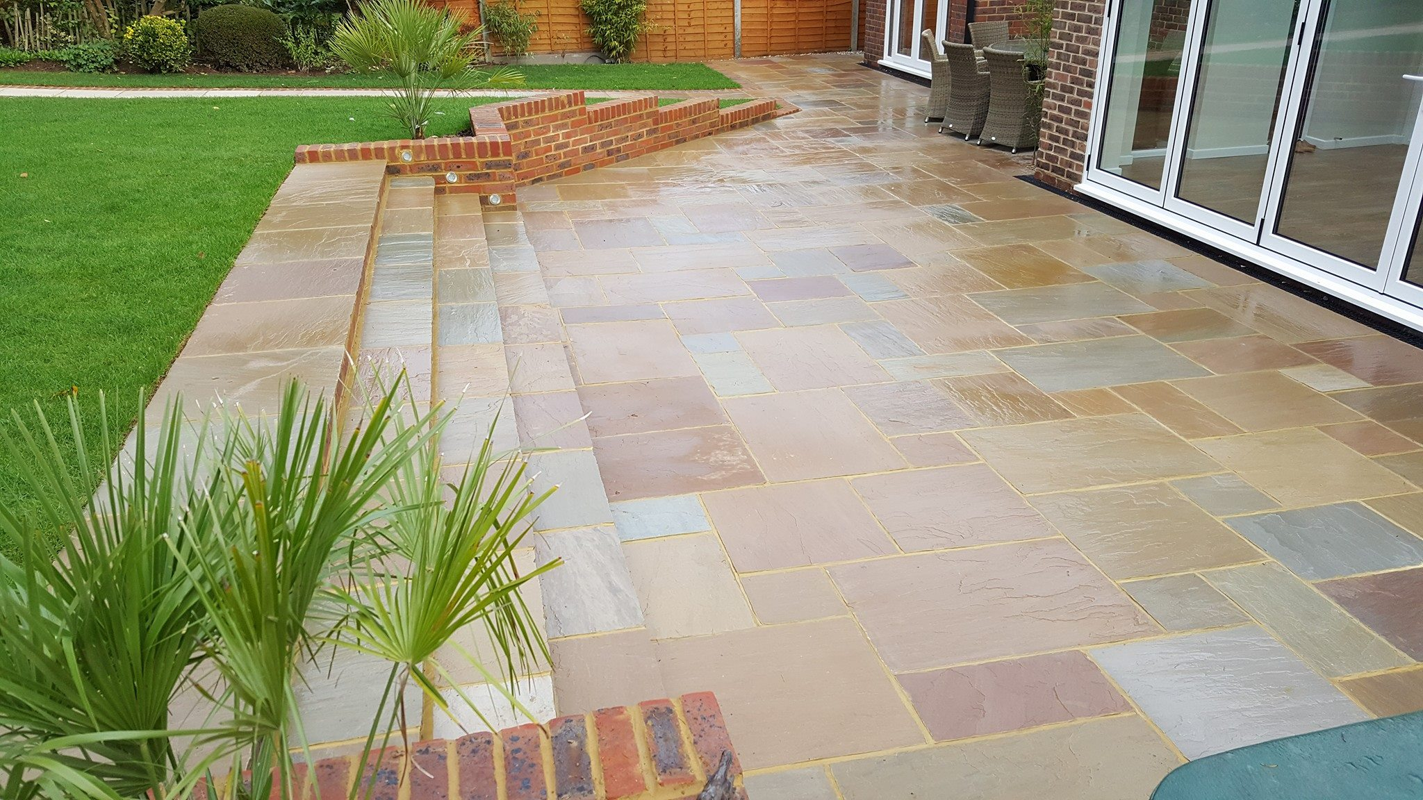 garden patio in horsham area