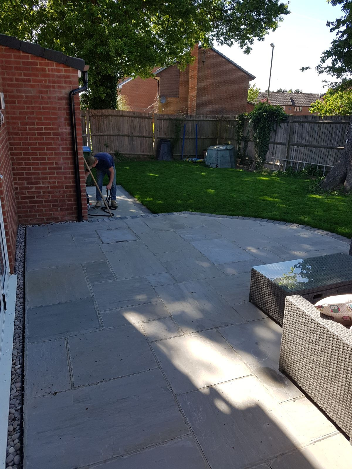 Garden Designed in Billingshurst with patio