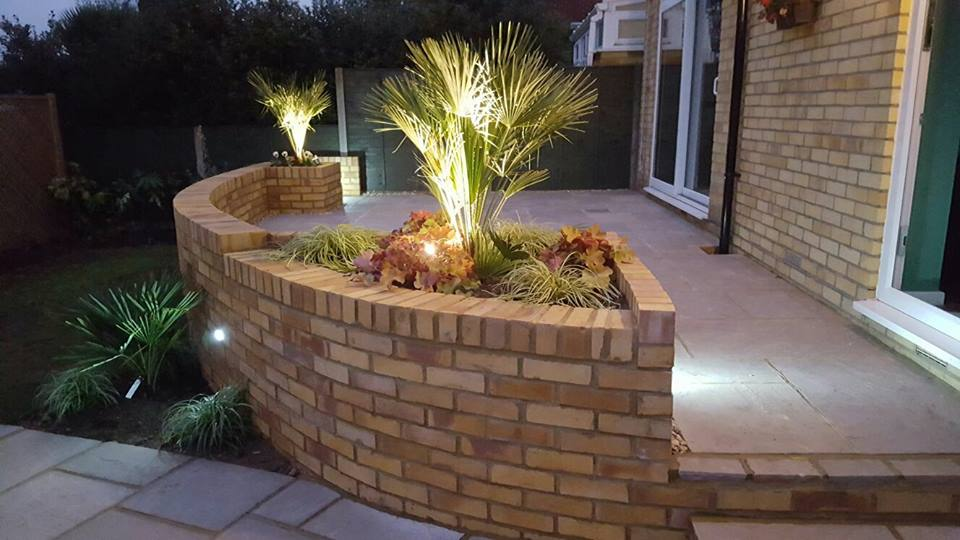 Specialise in garden landscaping