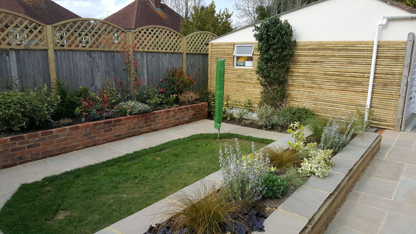 garden design with raised beds